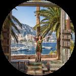 Prabanga tviskantis Monakas